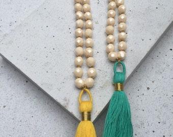 The Kirsten Tassel Necklace
