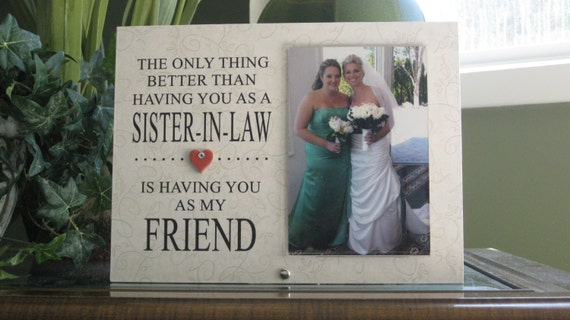 Wedding Gifts For Sister In Law: SISTER-IN-LAW Gift Sister-In-Law Frame Sister-In-Law Picture