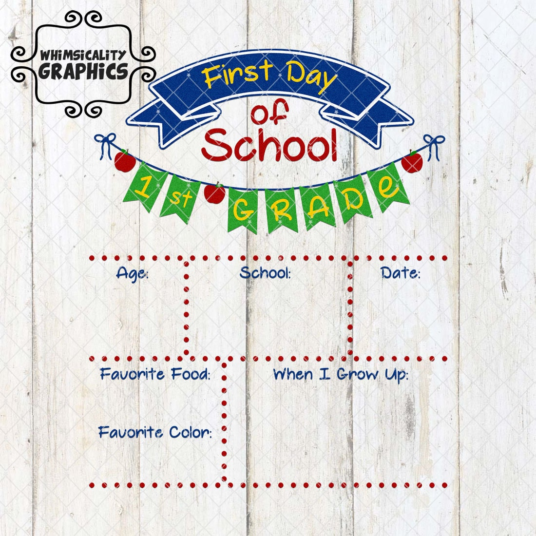 First and last day of school year sign template with svg dxf for First day of school sign template