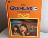 Vintage 80s Movie Book - Gremlins Storybook - 1984