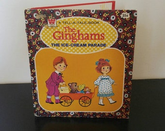 Vintage Children's Book - The Ginghams Ice Cream Parade - 1976