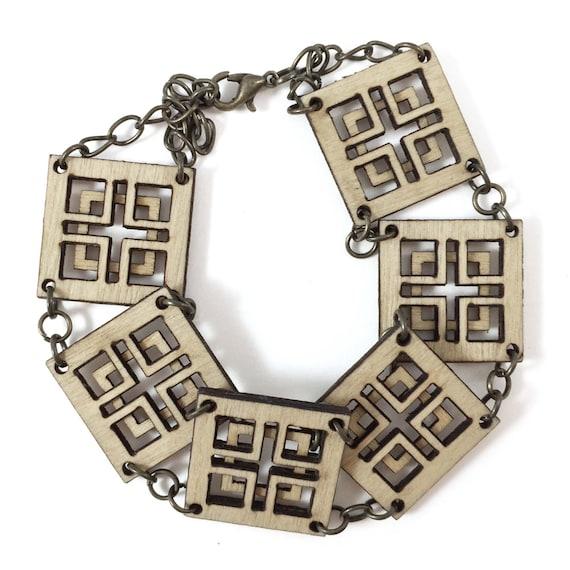 CHARMER | linked bracelet