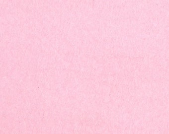 Anti Pill Solid Color Polar Fleece Fabric by the yard - Baby Pink