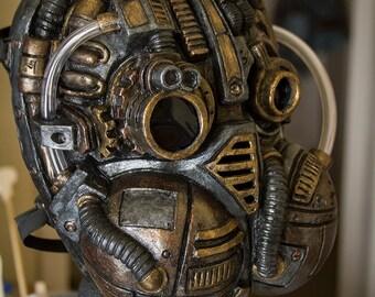 Demolition 313 diesel punk, steampunk Gas Mask On sale Now  25% off!!