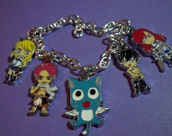 Fairy Tail Bracelet, Anime, Charm Bracelet, Fairy Tail, Anime Jewelry