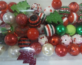 Destash, 18mm plus Beads, Paired, 50 beads or more, 50AG