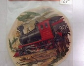 Vintage Water Mount Decals - Canadian Pacific Railway Train #300 - 1886 - Medium Size Decal