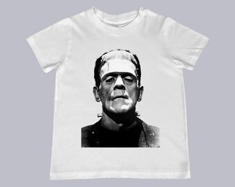 Youth Frankenstein Monster Tee -- infant, toddler and youth sizes
