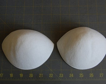 White B Cup Strapless Push Up Bra Cup
