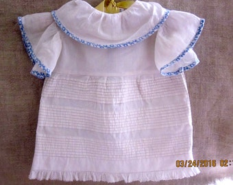 Charming Antique Doll Dress American Girl Dress Make-do
