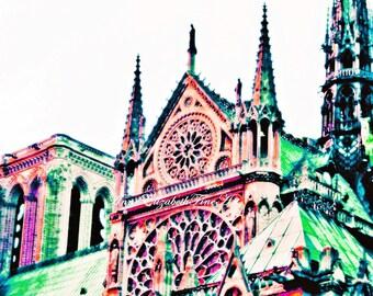 Paris Photography, Fashion, Parisian, Paris Dorm Decor, Notre Dame, Pink & Green, Preppy, Purple Paris, Paris in Pink, Paris Travel, Nursery