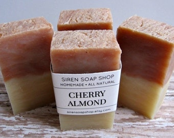 Cherry Almond Soap, Cherry, Almond