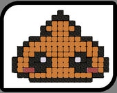 PATTERN - Inspired Poo Emoji Crochet Rug