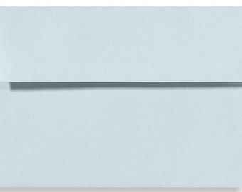 "12 Baby Blue A6 Envelopes 4 3/4"" x 6 1/2"""
