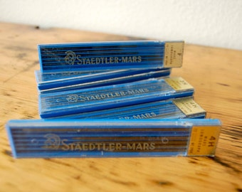 Vintage Staedtler Mars Lumograph Pencil Leads Vintage Drawing Leads Drafting Leads Drawing Supplies from The Eclectic Interior