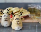 Felt doll - Handmade toys - Miniature - Needle felting - Felt toys - Figurines - Eco friendly - Personalised gifts - for her - gifts for men