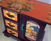 RESERVED Lion King Upcycled Jewelry Box