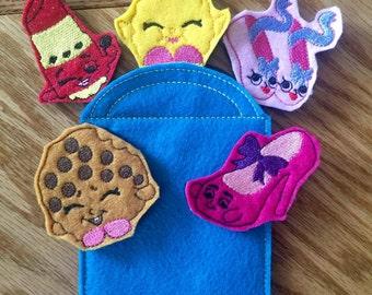 Shop Finger puppet set #2 In the hoop design digital instant download