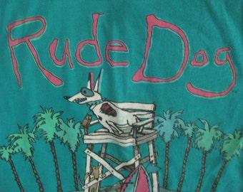Vintage Rude Dog Tank Top