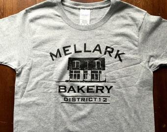 Mellark Bakery Unisex T Shirt S-XL in Heather Grey