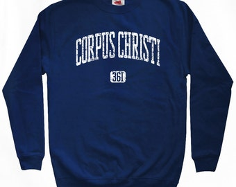 Corpus Christi 361 Sweatshirt - Men S M L XL 2x 3x - Texas Crewneck - 4 Colors