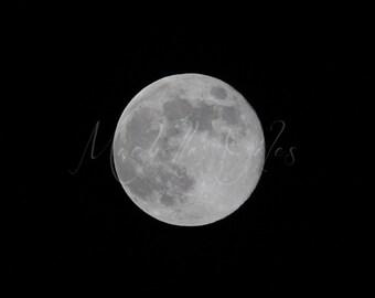 Super Moon **Fine Art Print**