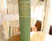 Bret Harte Condensed Novels 1st series 2nd series New Burlesques Argonaut Edition