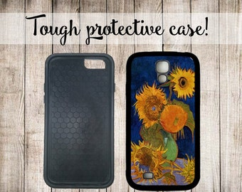 Van Gogh Sunflowers Phone Case iPhone 4 5/5s iPhone 6 Samsung Galaxy s3 s4 s5 s6