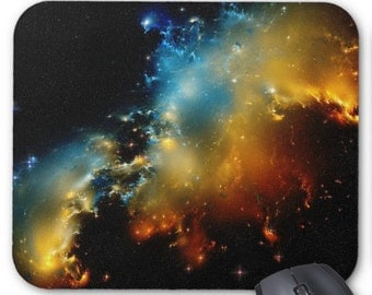Outer-space Stars Galaxy Mousepad