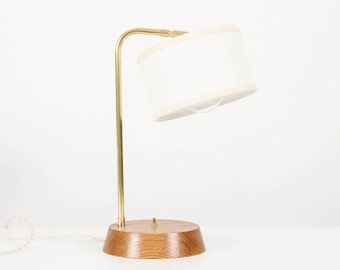 Clement Lamp- Modern Table Lamp, Desk Lamp