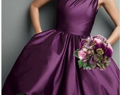 "New Artificial Sangria Rose & Hydrangea Bouquet, 8"" in diameter, Sangria Rose Bush, Sangria Wedding Bouquet"