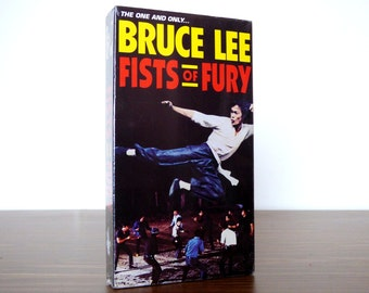 1993 Bruce Lee Fists of Fury VHS Movie Goodtimes