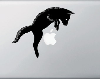 """CLR:MB - Dog Jumping - Macbook 