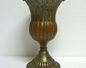 Vintage Egyptian Copper Urn....Marked Egypt