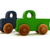 Wooden Toy Truck - Personalized Pickup Truck - Pick Any Color - Stocking Stuffer