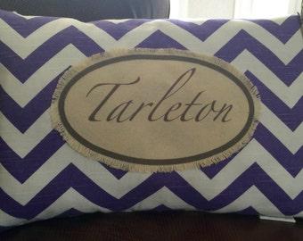 Tarleton State University Pillow