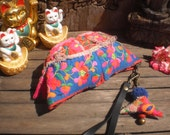 Hmong Vintage Tiger Baby Hat  Purse Beautiful,Old and Sweet Old Tribal Hat