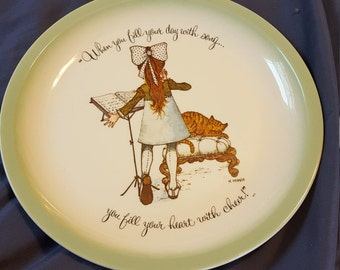 Holly hobbie collectors edition plate
