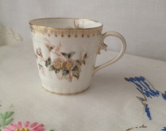 Vintage Delicate Bone China Demitasse Collectible Cup marked Depost