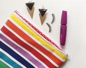 Rainbow Makeup Cosmetic Bag