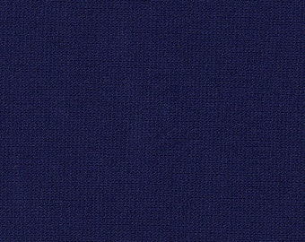 """60"""" Wide Navy Blue Ponte de Roma Double Knit by the yard"""