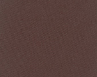 """60"""" Wide Brown Ponte de Roma Double Knit by the yard"""