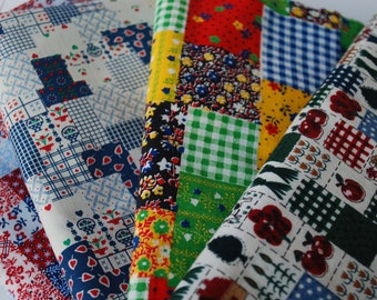 One Pound Patchwork fabric