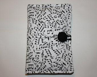 Kindle Fire HD 6 - Kindle Paperwhite Case, Nexus 7 Google, Amazon Kindle Cover, Kobo Aura H2O -  Musical Notes