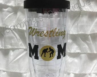 Wrestling mom tumbler!