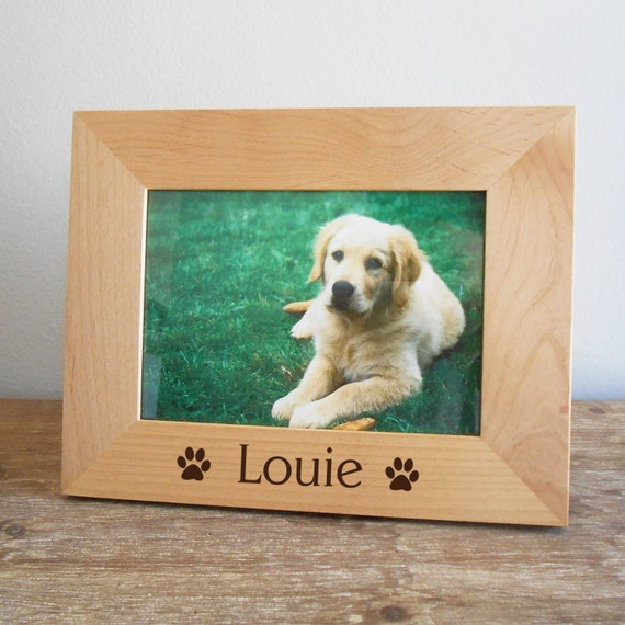 Personalized Dog Picture Frame Personalized By