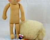 """16"""" Doll blank - Create you own doll, DIY Waldorf doll"""