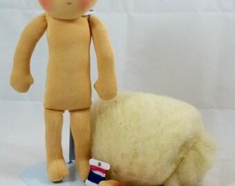 "12"" Waldorf doll -Waldorf doll kit, DIY Waldorf doll"