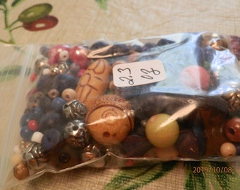 Small Bag Beads for Crafts/Jewelry Making 2.3oz