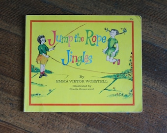 Vintage Children's Book - Jumping The Rope Jingles (1972)